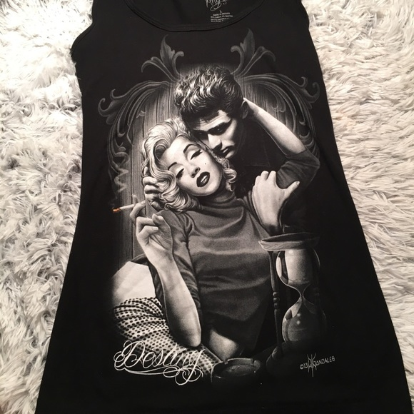 L@@K~~JAMES DEAN AND MARLYN MONROE Inspired By smoke display..NEW...COOL GIFT